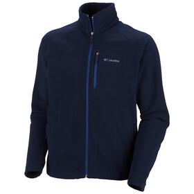 Columbia M's Fast Trek II Full Zip Fleece Jacket collegiate navy